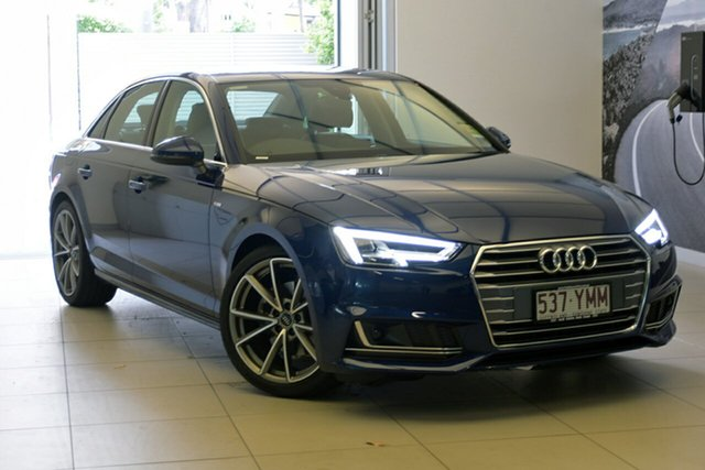 Demonstrator, Demo, Near New Audi A4 S Line S Tronic, Southport, 2018 Audi A4 S Line S Tronic Sedan