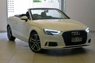 2018 Audi A3 Sport S tronic Cabriolet.