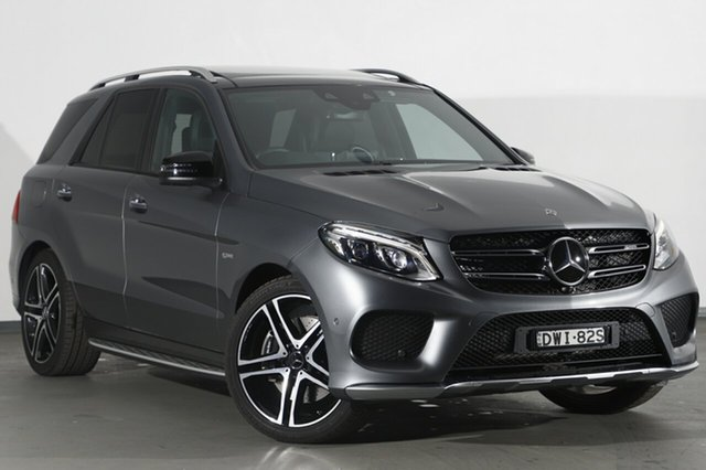 Demonstrator, Demo, Near New Mercedes-Benz GLE43 AMG 9G-TRONIC 4MATIC, Narellan, 2017 Mercedes-Benz GLE43 AMG 9G-TRONIC 4MATIC SUV