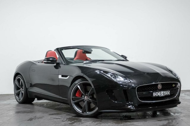 Used Jaguar F-TYPE Quickshift RWD, Rozelle, 2016 Jaguar F-TYPE Quickshift RWD Convertible