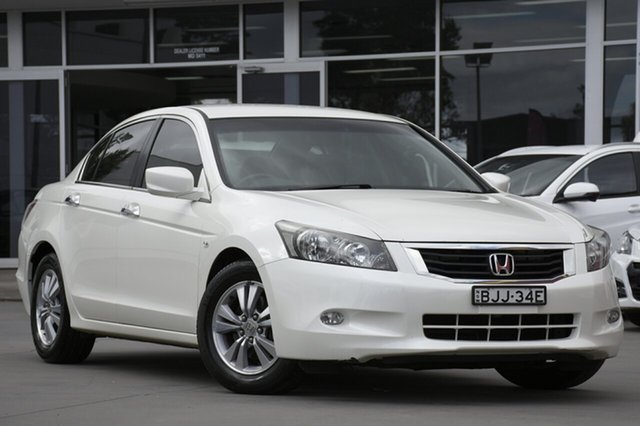 Used Honda Accord VTi, Southport, 2009 Honda Accord VTi Sedan