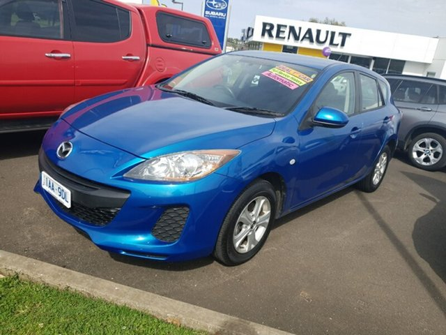 Used Mazda 3 Neo Activematic, Warrnambool East, 2013 Mazda 3 Neo Activematic Hatchback