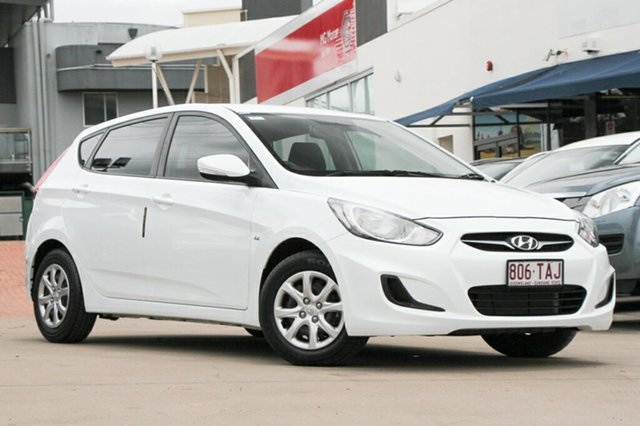 Used Hyundai Accent Active, Indooroopilly, 2013 Hyundai Accent Active Hatchback