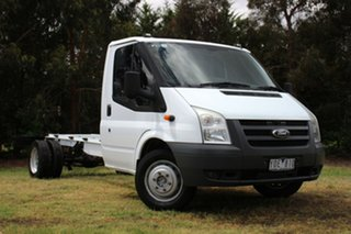 2011 Ford Transit LWB Cab Chassis.