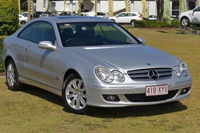 Discounted Used Mercedes-Benz CLK200 Kompressor Elegance, Warwick Farm, 2007 Mercedes-Benz CLK200 Kompressor Elegance Coupe