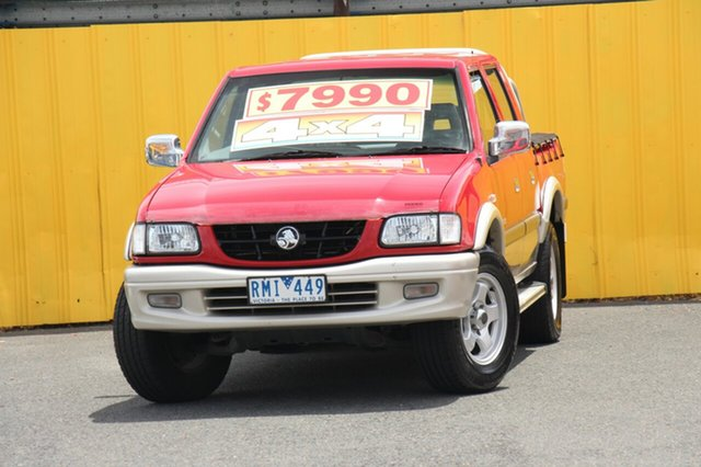 Used Holden Rodeo LT Crew Cab Sports, Cheltenham, 2002 Holden Rodeo LT Crew Cab Sports Utility