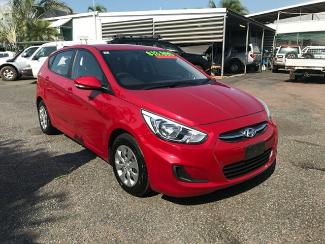 Used Hyundai Accent Active, Winnellie, 2016 Hyundai Accent Active Hatchback