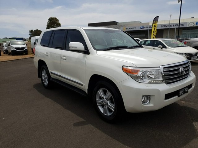 Used Toyota Landcruiser Sahara, Warrnambool East, 2015 Toyota Landcruiser Sahara Wagon
