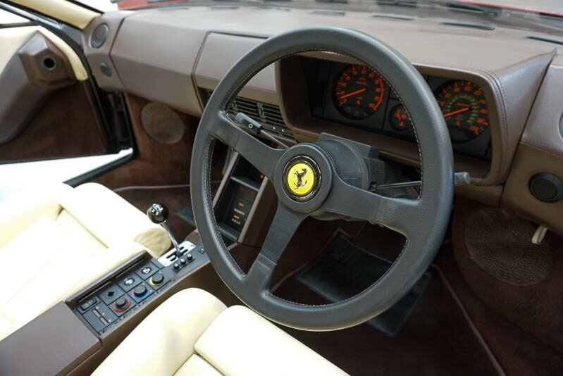 1985 Ferrari Testarossa High Mirror