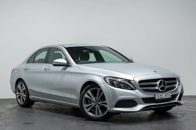 Used Mercedes-Benz C200 9G-TRONIC, Rozelle, 2017 Mercedes-Benz C200 9G-TRONIC Sedan