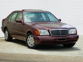 1992 Mercedes-Benz 300SE Sedan.