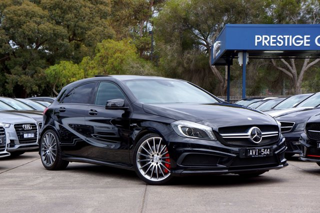 Used Mercedes-Benz A45 AMG SPEEDSHIFT DCT 4MATIC, Balwyn, 2014 Mercedes-Benz A45 AMG SPEEDSHIFT DCT 4MATIC Hatchback