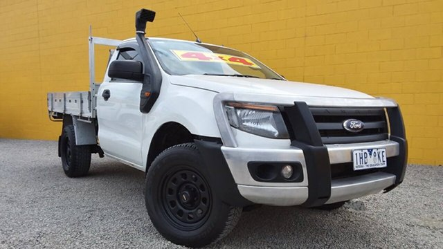 Used Ford Ranger XL, Cranbourne, 2013 Ford Ranger XL Cab Chassis