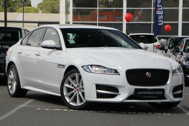 Demonstrator, Demo, Near New Jaguar XF 25T R-Sport, Maroochydore, 2017 Jaguar XF 25T R-Sport Sedan