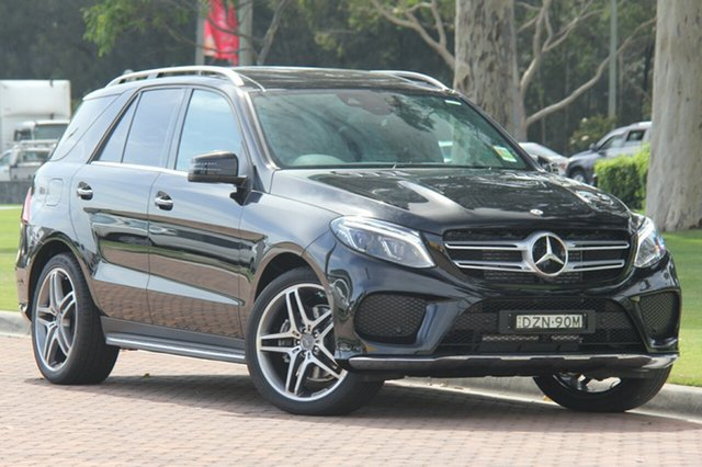 Demonstrator, Demo, Near New Mercedes-Benz GLE350 d 9G-TRONIC 4MATIC, Narellan, 2018 Mercedes-Benz GLE350 d 9G-TRONIC 4MATIC SUV