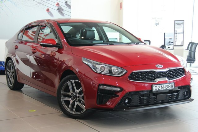 Demonstrator, Demo, Near New Kia Cerato Sport+, Warwick Farm, 2018 Kia Cerato Sport+ Sedan