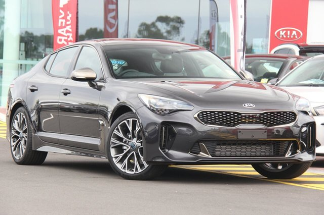 Demonstrator, Demo, Near New Kia Stinger GT-Line Fastback, Southport, 2018 Kia Stinger GT-Line Fastback Sedan