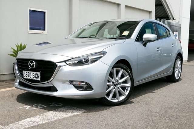 Demonstrator, Demo, Near New Mazda 3 SP25 SKYACTIV-Drive GT, Cheltenham, 2018 Mazda 3 SP25 SKYACTIV-Drive GT Hatchback