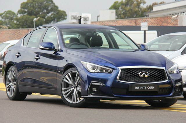 Discounted Demonstrator, Demo, Near New Infiniti Q50 Sport, Warwick Farm, 2018 Infiniti Q50 Sport Sedan