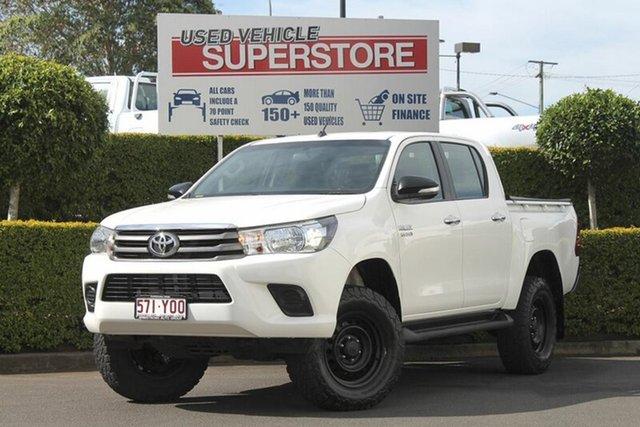 Used Toyota Hilux SR Double Cab, Toowoomba, 2015 Toyota Hilux SR Double Cab Utility