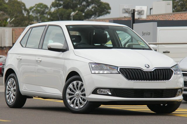 Discounted Demonstrator, Demo, Near New Skoda Fabia 81TSI DSG, Narellan, 2018 Skoda Fabia 81TSI DSG Hatchback
