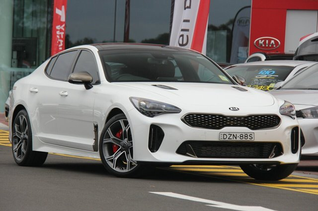 Demonstrator, Demo, Near New Kia Stinger GT Fastback, Southport, 2018 Kia Stinger GT Fastback Sedan