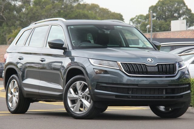 Discounted Demonstrator, Demo, Near New Skoda Kodiaq 132TSI DSG, Warwick Farm, 2018 Skoda Kodiaq 132TSI DSG Wagon