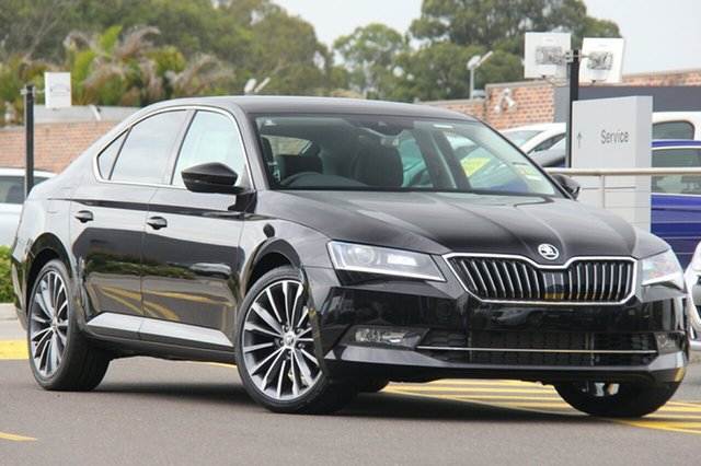Discounted Demonstrator, Demo, Near New Skoda Superb 162TSI Sedan DSG, Southport, 2018 Skoda Superb 162TSI Sedan DSG Liftback