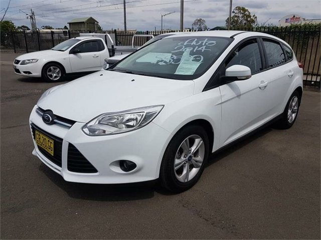 Used Ford Focus Trend PwrShift, Campbelltown, 2014 Ford Focus Trend PwrShift Hatchback