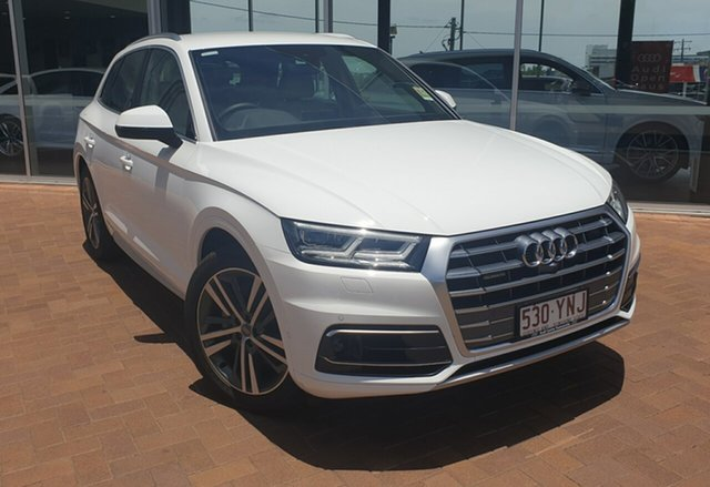 Discounted Demonstrator, Demo, Near New Audi Q5 TDI Tiptronic Quattro Sport, Toowoomba, 2018 Audi Q5 TDI Tiptronic Quattro Sport Wagon