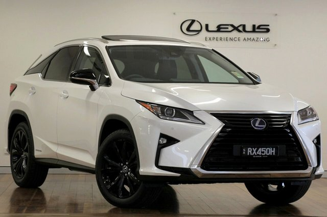 Demonstrator, Demo, Near New Lexus RX450H Crafted Edition, Adelaide, 2018 Lexus RX450H Crafted Edition Wagon