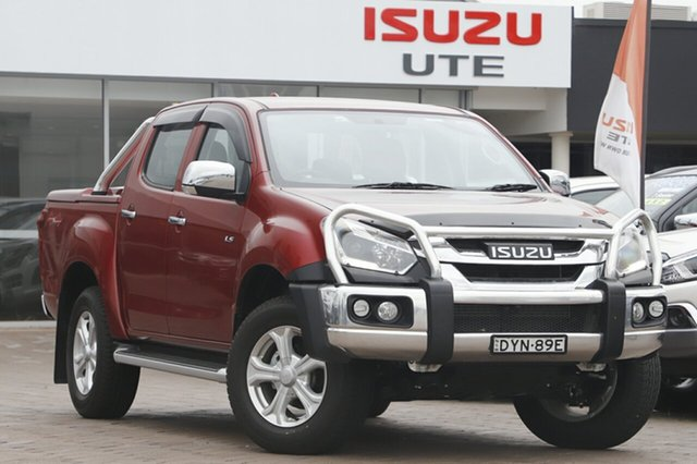 Discounted Demonstrator, Demo, Near New Isuzu D-MAX LS-U Crew Cab, Southport, 2018 Isuzu D-MAX LS-U Crew Cab Utility