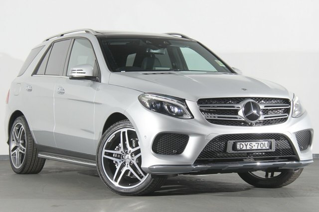 Demonstrator, Demo, Near New Mercedes-Benz GLE250 d 9G-TRONIC 4MATIC, Warwick Farm, 2018 Mercedes-Benz GLE250 d 9G-TRONIC 4MATIC SUV