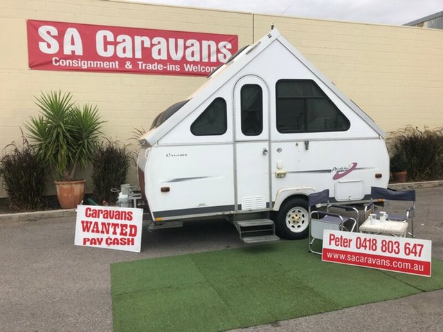 Used AVAN Cruiser 12' with Air Conditioning, Klemzig, 2002 AVAN Cruiser 12' with Air Conditioning Camper Trailer