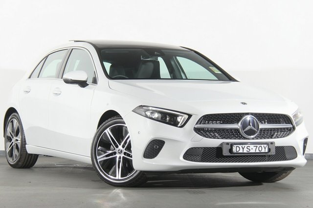 Demonstrator, Demo, Near New Mercedes-Benz A200 D-CT, Warwick Farm, 2018 Mercedes-Benz A200 D-CT Hatchback