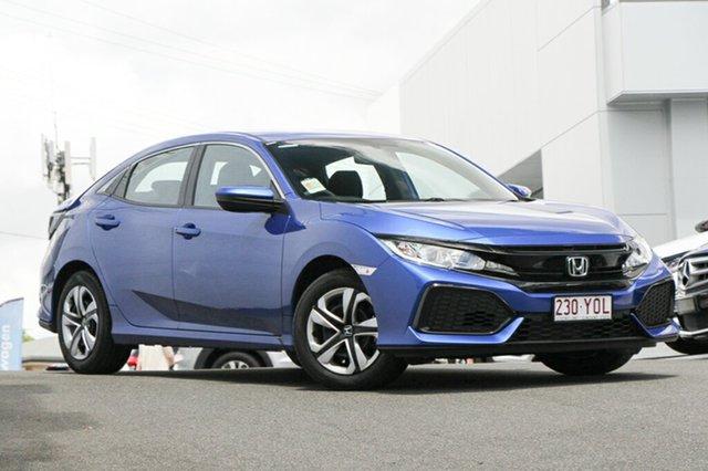 Demonstrator, Demo, Near New Honda Civic VTi, Indooroopilly, 2018 Honda Civic VTi Hatchback
