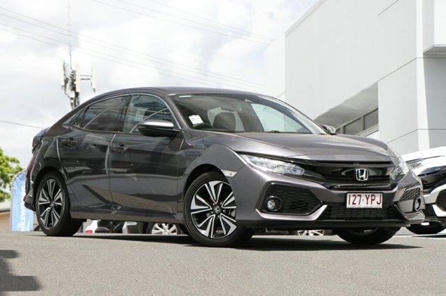 Demonstrator, Demo, Near New Honda Civic VTI-LX, Indooroopilly, 2018 Honda Civic VTI-LX Hatchback