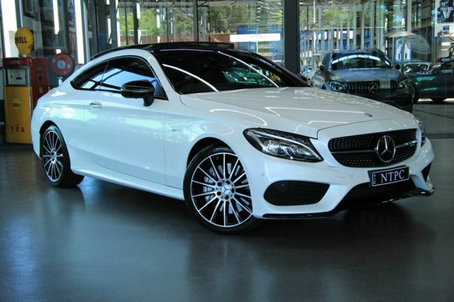 Used Mercedes-Benz C43 AMG 9G-TRONIC 4MATIC, North Melbourne, 2016 Mercedes-Benz C43 AMG 9G-TRONIC 4MATIC Coupe
