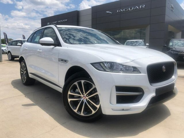 Demonstrator, Demo, Near New Jaguar F-PACE 20d AWD R-Sport, Lavington, 2018 Jaguar F-PACE 20d AWD R-Sport Wagon