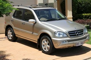 Discounted Used Mercedes-Benz ML500 Luxury, Bundall, 2002 Mercedes-Benz ML500 Luxury W163 MY2002 Wagon