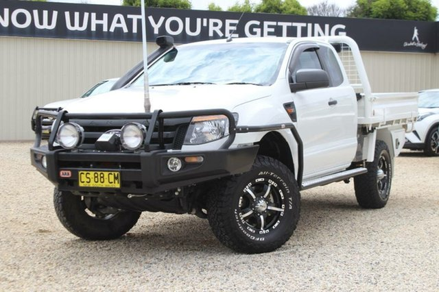 Used Ford Ranger XL 3.2 (4x4), Bathurst, 2014 Ford Ranger XL 3.2 (4x4) Super Cab Chassis