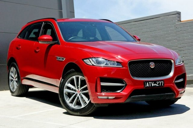 Demonstrator, Demo, Near New Jaguar F-PACE 20d AWD R-Sport, Doncaster, 2017 Jaguar F-PACE 20d AWD R-Sport Wagon