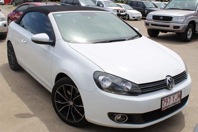 Used Volkswagen Golf 118TSI DSG, Underwood, 2012 Volkswagen Golf 118TSI DSG Cabriolet