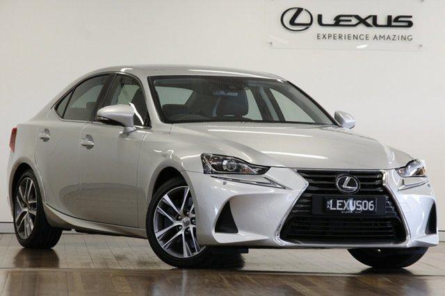 Demonstrator, Demo, Near New Lexus IS300 Luxury, Adelaide, 2018 Lexus IS300 Luxury Sedan