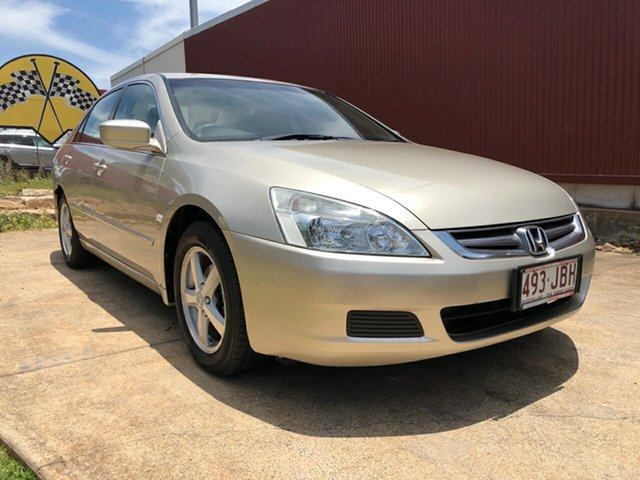 Used Honda Accord VTi, Toowoomba, 2005 Honda Accord VTi Sedan