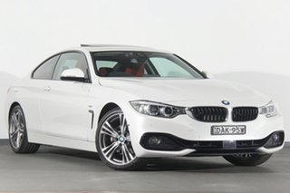 2016 BMW 430i Sport Line Coupe.
