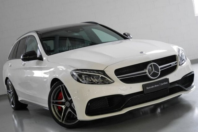 Used Mercedes-Benz C63 AMG Estate SPEEDSHIFT MCT S, Narellan, 2018 Mercedes-Benz C63 AMG Estate SPEEDSHIFT MCT S Wagon