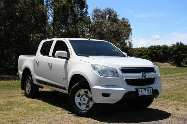 Used Holden Colorado LX Crew Cab 4x2, Officer, 2013 Holden Colorado LX Crew Cab 4x2 Utility