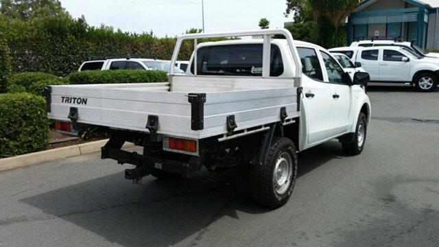 Used Mitsubishi Triton GLX Double Cab 4x2, Acacia Ridge, 2015 Mitsubishi Triton GLX Double Cab 4x2 MQ MY16 Utility
