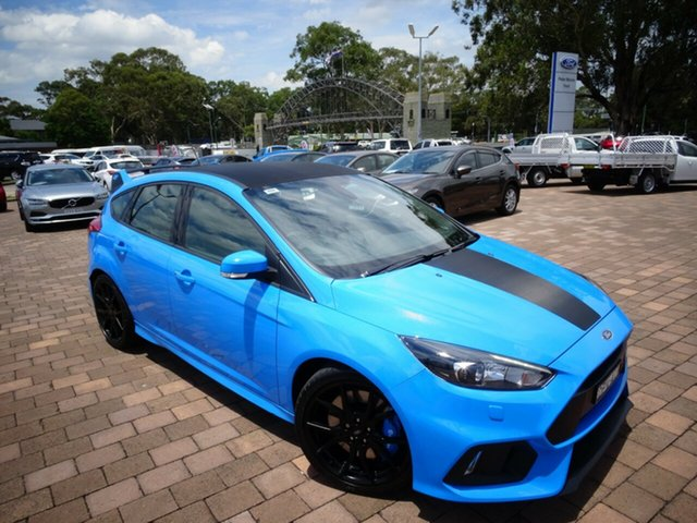 Used Ford Focus RS AWD, Warwick Farm, 2017 Ford Focus RS AWD Hatchback
